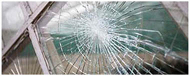 Chalfont St Peter Smashed Glass